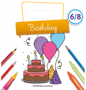 Birthday Activity Book
